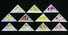 Herm Island Stamps VF 11 Different Stamps OG H