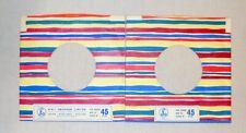 Job Lot  X 2 EMI :  7'' record sleeves. Company Original Vintage. (ref424)