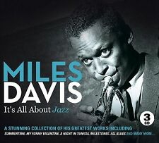 MILES DAVIS IT'S ALL ABOUT JAZZ - 3 CD BOX SET - SUMMERTIME,SO WHAT & MORE