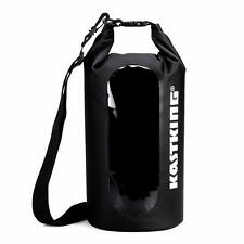 New! 10L KastKing Dry Bag Waterproof Roll Top Sack for Beach, Hiking, Kayak