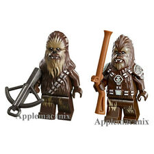NEW LEGO Star Wars CHIEF TARFFUL AND CHEWBACCA Minifigure Set Wookiee Wookie