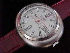 Big Sharp 1970s Esperanto 17 Jewel French Made Great Dial Unusual Looker!!!