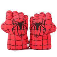 1Pair New Superhero Smash Hands Gloves Hulk spiderman The Avengers Fists toy