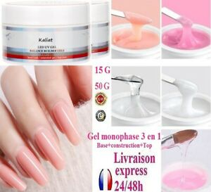 One Phase UV Gel 15-1.8oz 3 IN 1 For Manicure Fake Nails