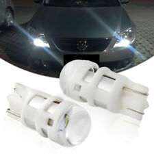2PCS Xenon White T10 W5W LED Bulbs DRL Driving&Parking Lights Bulbs Universal