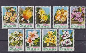 nicaragua 1974 Sc 932/8 flower,set MNH          r1689