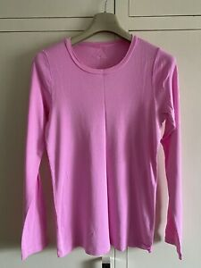 J Crew Perfect Fit Pink Long Sleeve T Shirt Size L