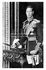 rp16953 - King George VI - photograph 6x4