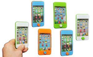 6 X Wasserspiel Smartphone Knobelspiele Wasser Geduldspiel bunt Kinder Handy