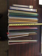 Lot of 46 Knitting Needles, Most Metal, Bates, Boye Vintage
