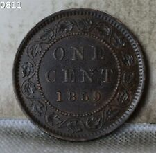 "1859 Canada large Cent ""XF/AU"" *Free S/H After 1st Item*"
