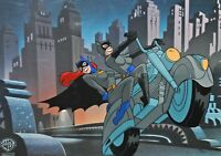 When the Bat's Away, the Girls Will Play Limited Cel Batgirl CatWoman Paul DIni
