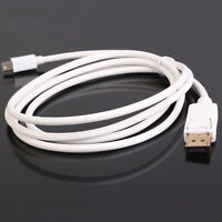 Mini Thunderbolt DisplayPort DP to DisplayPort DP 1.2 Cable Male to Male 6ft