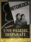 Affiche UNE FEMME DISPARAIT Lady Vanishes ALFRED HITCHCOCK R120x160cm *