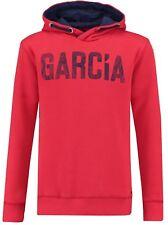 Wi 18/19 García Niño - Sudadera con Capucha / Capucha,Rojo Regular Ajuste U83475