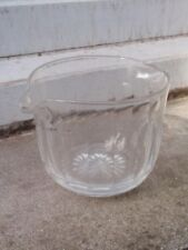 Clear Hand Blown Victorian Date-Lined Glass (Pre-1840)