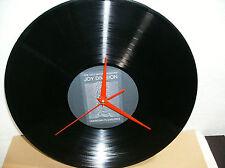 "JOY DIVISION Unknown Pleasures 12"" VINYL LP Wall Clock RED Handles"