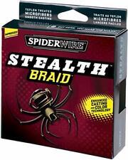 Spiderwire Stealth Braid 10lb, 4.5kg, 150yd, Moss Green  NEW