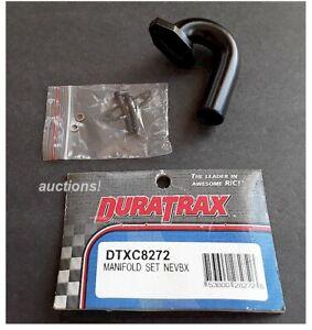 Vintage RC Car Duratrax Manifold Set Nitro Evader BX NEVBX DTXC8272 Old Stock