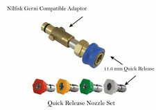 Multi Wash Nozzle Compact Lance Extension Nilfisk Gerni Compatible