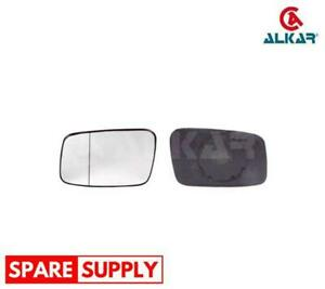 MIRROR GLASS, OUTSIDE MIRROR FOR VOLVO ALKAR 6402516 FITS RIGHT