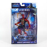 Marvel Legends Avengers Infinity War Super Hero Spider man Action Figure Toy LED