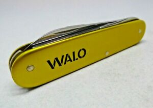 Victorinox /  WALO 84mm Voyageur Swiss Army Knife in Gold Alox