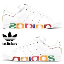 Adidas Stan Smith Sneakers Men's Casual Shoes Running White Multicolor