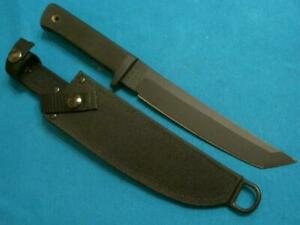 COLD STEEL USA CARBON V RECON TANTO COMBAT FIGHTING SURVIVAL BOWIE KNIFE VINTAGE