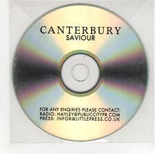(GI579) Canterbury, Saviour - DJ CD