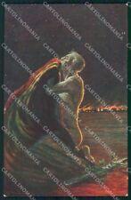 WW1 WWI Propaganda Flag Belgique cartolina postcard XF8753