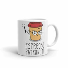 Espresso Patronum Ceramic Mug,Birthday, Christmas Office Tea Coffee Gift