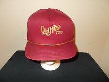 VTG-1980s Old Home 70th foods rope country club golf leather strapback hat sku22