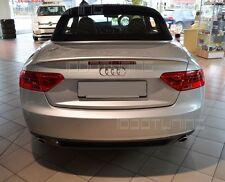 Audi A5 Cabrio Facelift Heckspoiler S-Line S5 Neu Spoiler Heckspoilerlippe