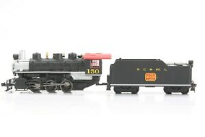 HO Bachmann Nashville Chattanooga & St. Louis Steam Locomotive & Tender Tested
