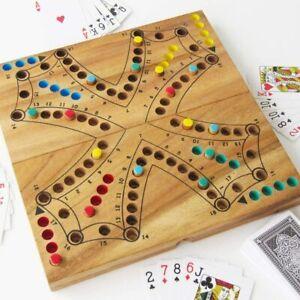 Jeu de TOC - TOCK en bois de 2 à 4 joueurs, CE jeux de société TAC TIK TAK TIC