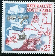 STAMP / TIMBRE DE MONACO N° 524 ** 29° RALLYE AUTOMOBILE DE MONTE CARLO