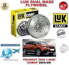 FOR PEUGEOT 3008 1.6 HDi 109BHP 2009-ON ORIGINAL LUK DMF DUAL MASS FLYWHEEL