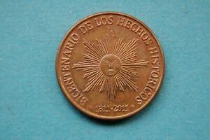 URUGUAY - 2011 FIFTY ($50) PESOS BICENTENARIO DE LOS HECJOS HISTORICOS COIN