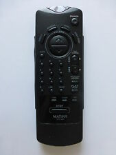 MATSUI CD HIFI REMOTE CONTROL for MCH650 battery hatch missing