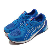 Asics Tartheredge2 2E Wide Blue White Men Running Shoes Sneakers 1011A855-400
