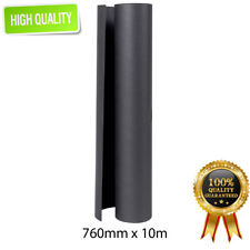 Packaging  BLACK KRAFT Paper Roll 760mm x 10m 125GSM Packing Wrapping Kraft Gift