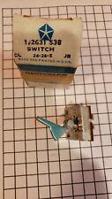 Vintage NOS Mopar 2631538 Blower switch 1967 B body GTX Tested Working
