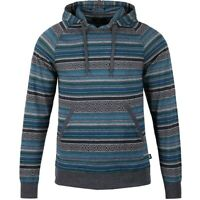 Men's Work Out Hunting Pullover Cotton Hoodie Fleece Sports Outwear Blue