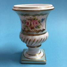 KP8)    Original Limoge Pokalvase Porcelaine d´Art Stéphanie handmalerei 1. Wahl
