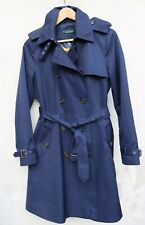 Ralph Lauren womens trench style mac raincoat coat UK10