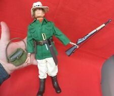 1964 VINTAGE GI JOE JOEZETA: PALITOY ACTION MAN :  JUNGLE EXPLORER W/BLOND FUZZ