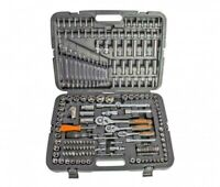 "ToolTronix 215 pcs Ratchet Spanner Socket Set 1/2 1/4 3/8"" DR Hand Tool Toolbox"