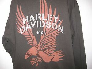 Harley Davidson Freedom Brown Full Zip Hooded Hoodie Sweatshirt 3XL BIG Graphic