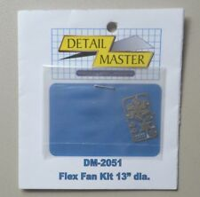 FLEX FAN KIT 1:24 1:25 DETAIL MASTER CAR MODEL ACCESSORY 2051